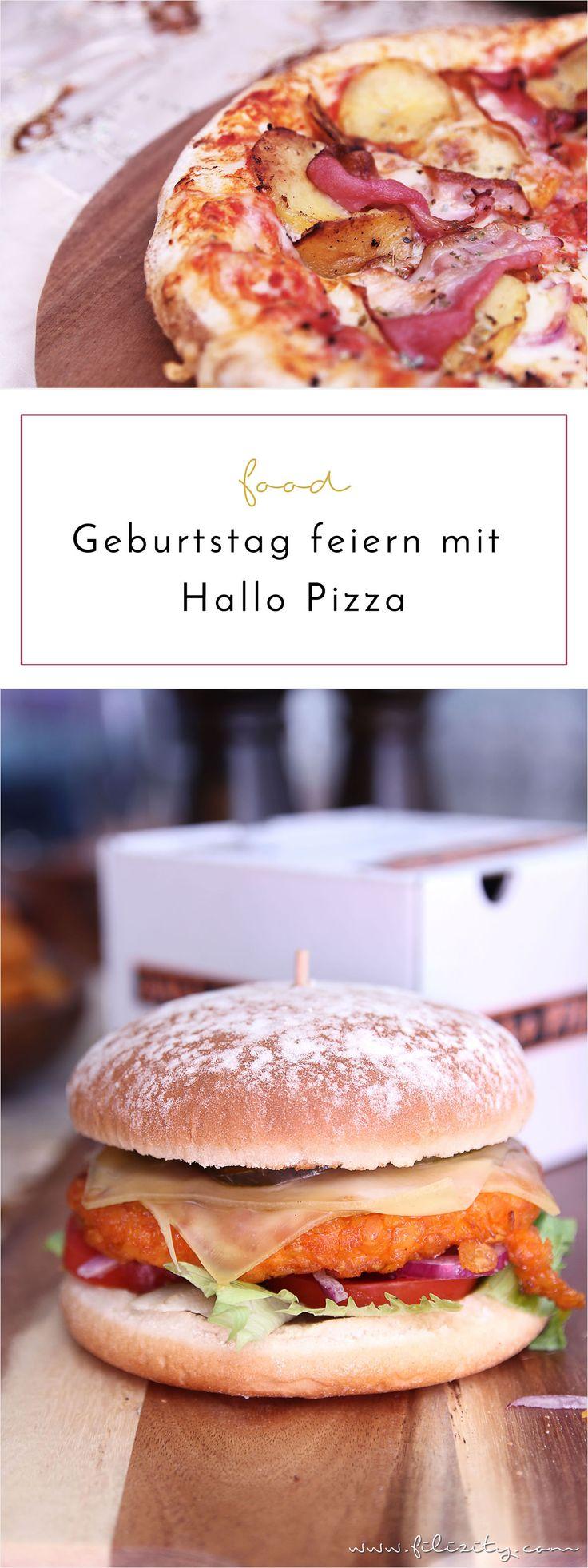 Lecker ist lecker –  Ein stressfreies Geburtstags-Essen mit besonderen Geschmackserlebnissen von Hallo Pizza.
