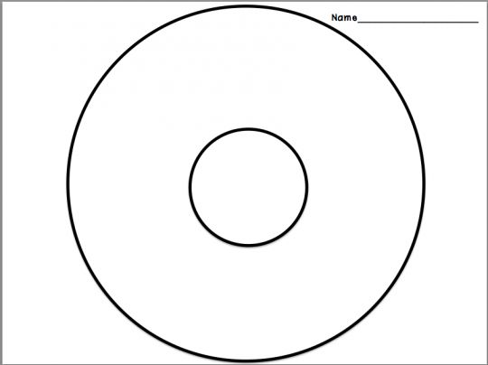 Divine image inside circle map printable