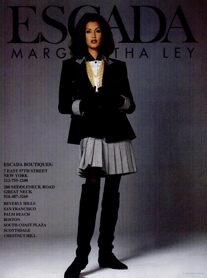 New York Magazine - 1992 August 24 - ESCADA Margaretha Ley - Yasmeen Ghauri - ads