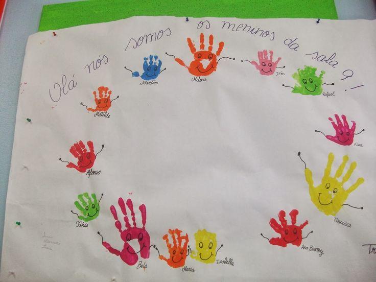 Partilha de atividades e técnicas, bem como, de suporte pedagógico usado na área da educação pré-escolar.