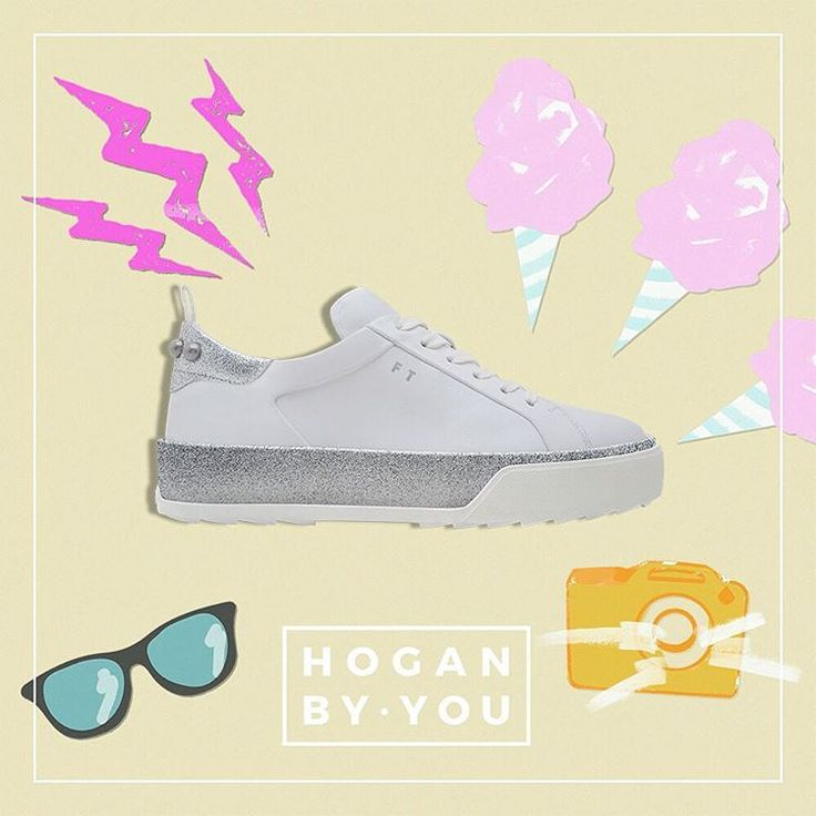 #HoganByYou your favorite #HOGAN #sneakers just the way you like them   Customise your own #HOGAN #H320 #sneakers at the link in bio