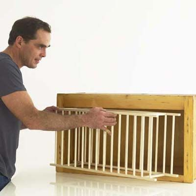 How To Make A Plate Rack With Dowels - WoodWorking ...