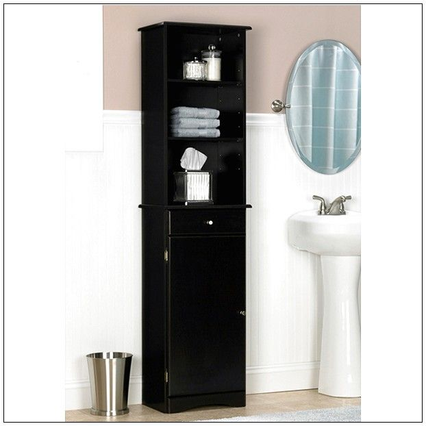 Best Bathroom Storage Cabinet Images On Pinterest Bathroom - Espresso bathroom floor cabinet for bathroom decor ideas