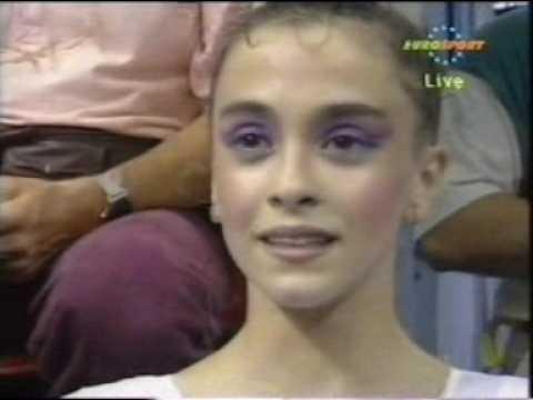 Carolina Pascual Hoop 1992 Olympics