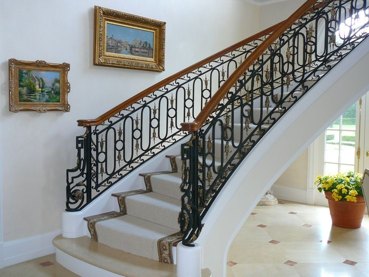 I Took Inspiration From The Petite Trianon For The Wrought Iron Details. Stark  Carpet Stair