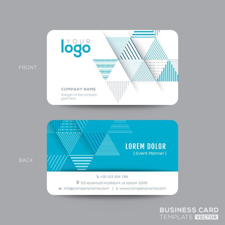 11 best Visiting Card images on Pinterest | Business card design ...