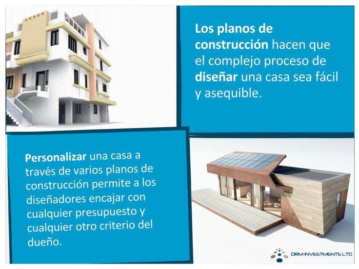Los planos de construcción hacen que el complejo proceso de diseñar una casa sea fácil y asequible. Visítenos hoy