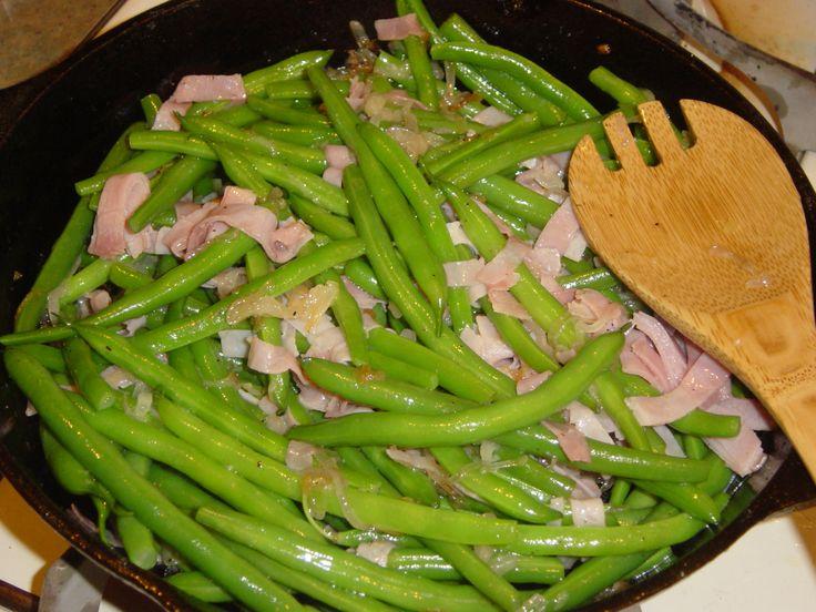 Sonkás zöldbab – Leírhatatlanul finom, csak soha nem tudok eleget csinálni belőle!