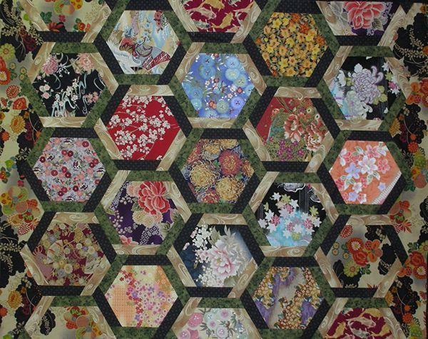 Marti Michell Interlocking Hexagons Hexagon Quilts