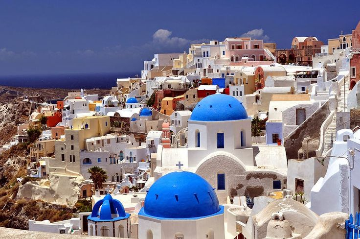 Santorini Greece, white houses, architecture Travel notes: Wish list #2