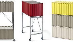 Muebles con ruedas, sofás transformables, sillas que se transforman en mesas… en definitiva, muebles modulares y transformables que tienen varios usos.