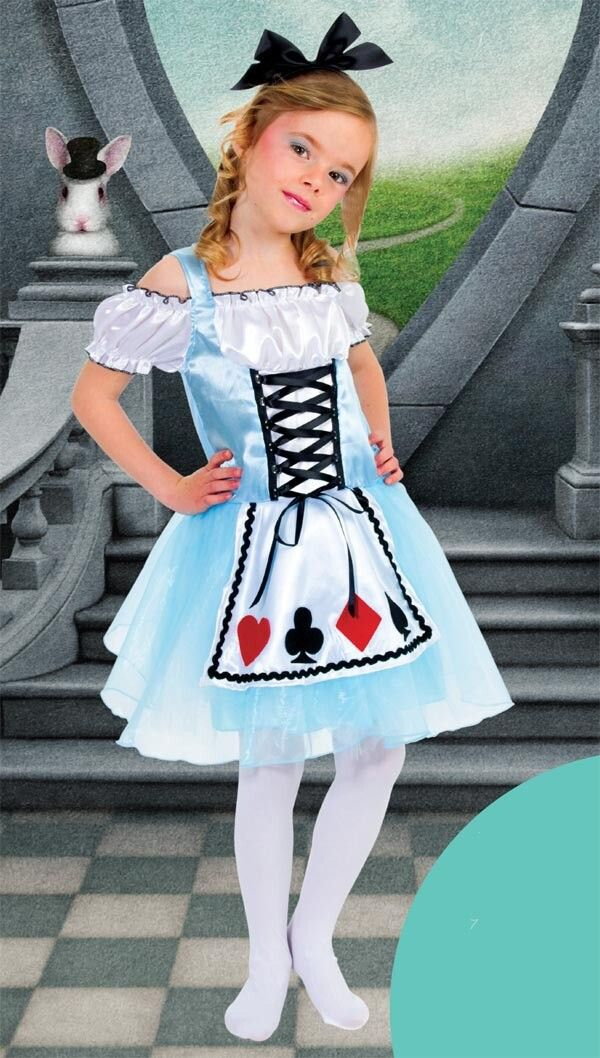 Aliexpress Com Buy Alice In Wonderland Fancy Dresses Kids Light