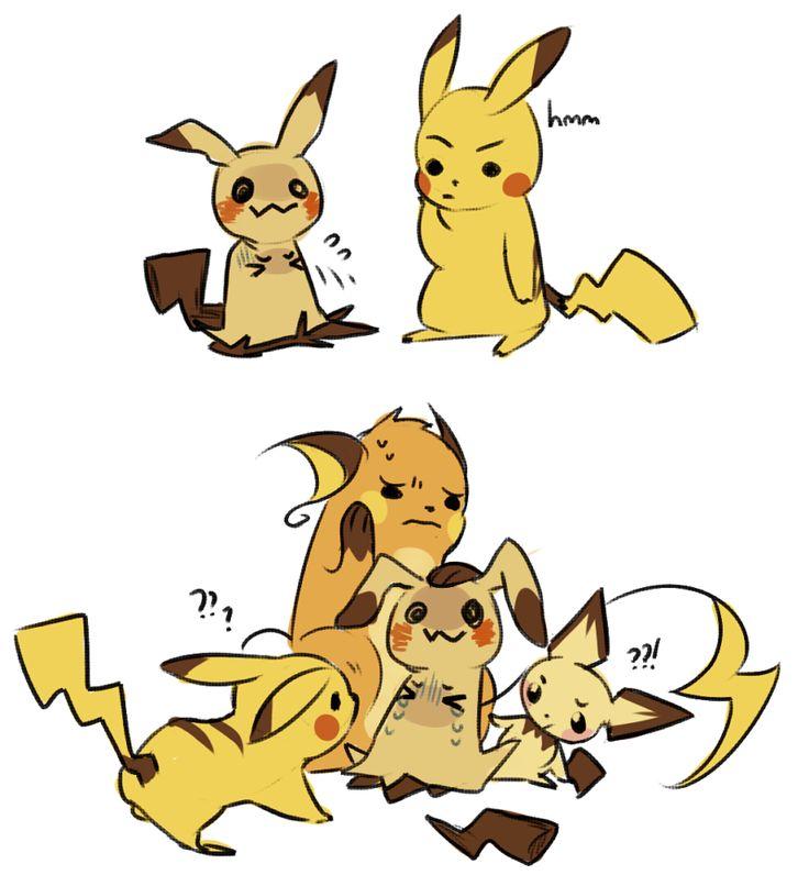 111 best mimikkyu images on Pinterest | Pikachu, Pokemon sun and ...