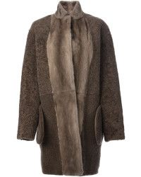 Yves Salomon   Reversible Coat    Lyst