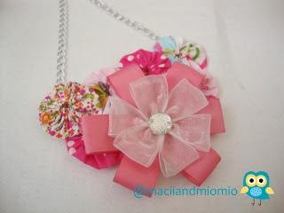 pinky handmade necklace