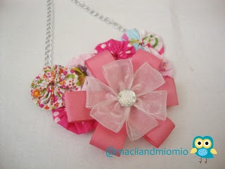 pinky handmade necklace