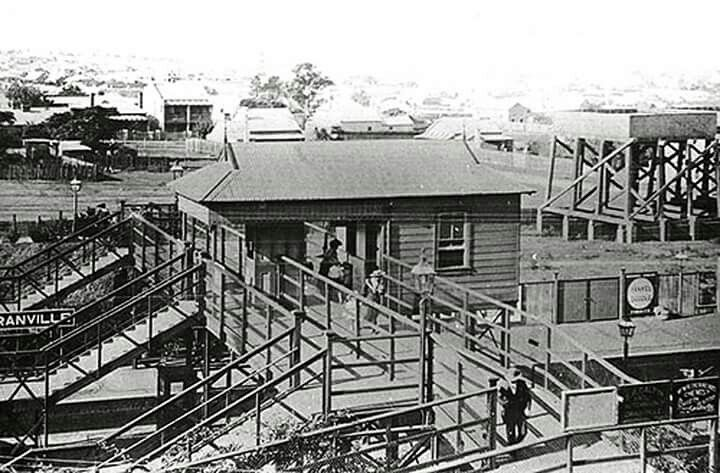 Granville Railway Station,western Sydney in 1900