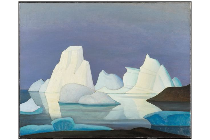 Lawren Harris, Grounded Icebergs