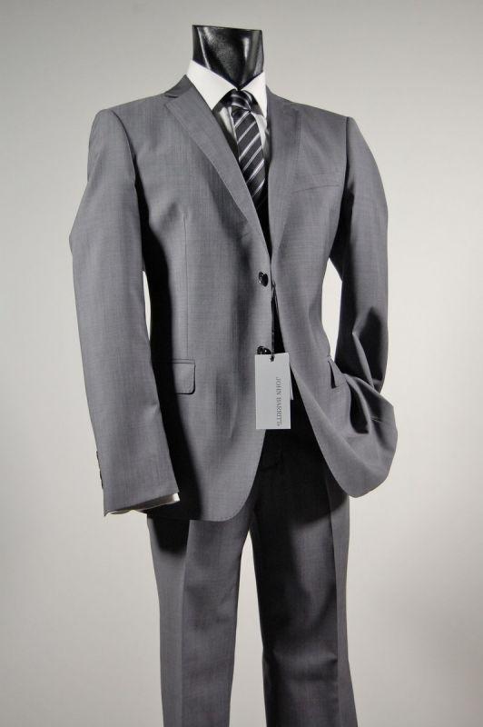 John barritt mid-gray suit cool wool. Italian Style