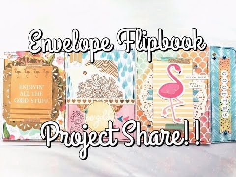 Envelope Flip Book!! | Project Share - YouTube