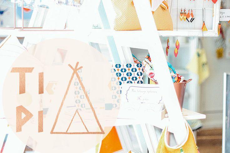 Tipi, une boutique de créateurs made in Breizh | Vickie in the sky - Blog lifestyle mode beauté - Rennes