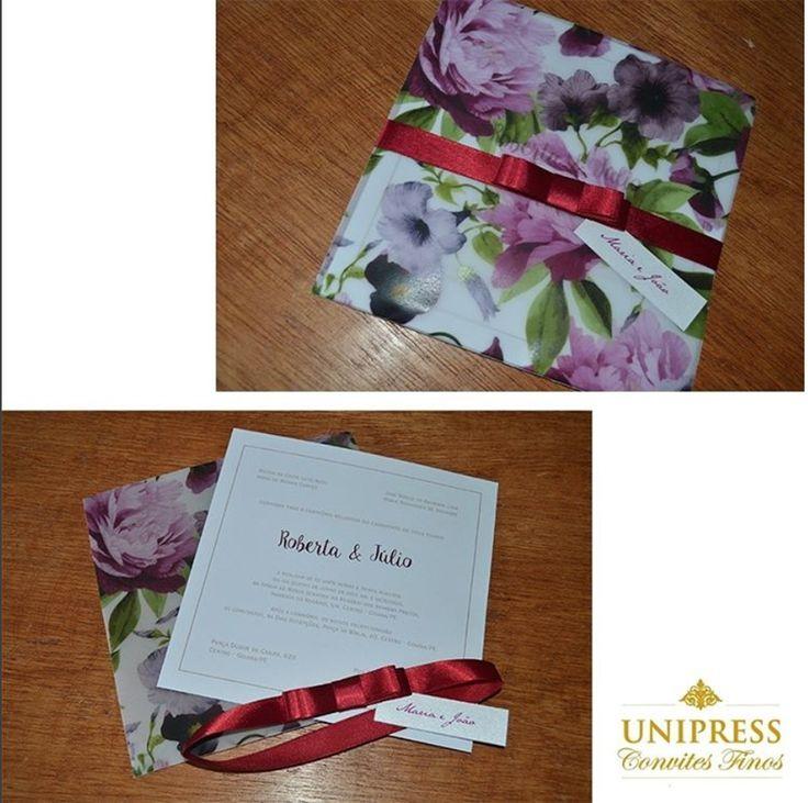 [@unipressconvites] Qual tema do seu casamento? Apaixonei por esse convite de casamento floral da @unipressconvites😍📩<br />.<br />A @unipressconvites Finos há 20 anos trabalha com excelência no mercado de Pernambuco e possui uma diversidade de modelos de convites de casamento.💌💌💌<br />.<br />Informações:<br />👉@unipressconvites<br />👉Telefone: (81)3226-2326 | (81) 8844.3925<br />👉comercial@unipressgrafica.com.br<br />.<br />#noivasdobrasil #weddinginspiration #instamood #bride…