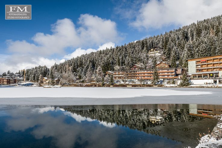 Panorama... Crans Montana  Swiss www.fotomaddalena.it #fotomaddalena #cransmontana #lake #snow #beautifulpic #stefanomaddalena