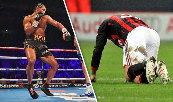 David Haye opens up on injury after Tony Bellew defeat: Ill be like David Beckham