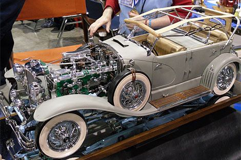 Tiny Motors: Gallery from Model Engineering Societys Annual Expo