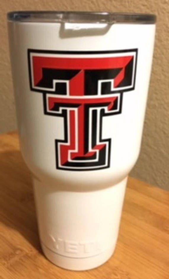 John - Texas Tech Yeti Tumbler 30 oz - White, Red, or Black.
