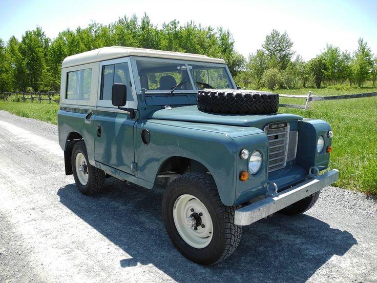 1974 Land Rover 88. Photo via Hemmings Motor. #Lease #LandRover #SimpleLease