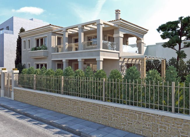 lkmk architects | Gerakas Neoclassical residence