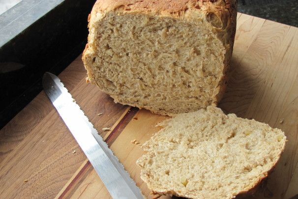Hearty Nut Bread--Bread Machine. Photo by JanuaryBride