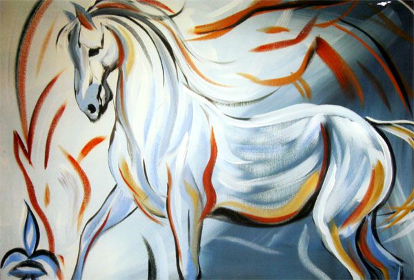 White Horse Art - Bing Images: Current Projects, Bing Images, Art Inspiration, White Horses, Artistic Inspiration, Equine Art, Horse Art, Ds Oakridge, Horse Rev 19 11