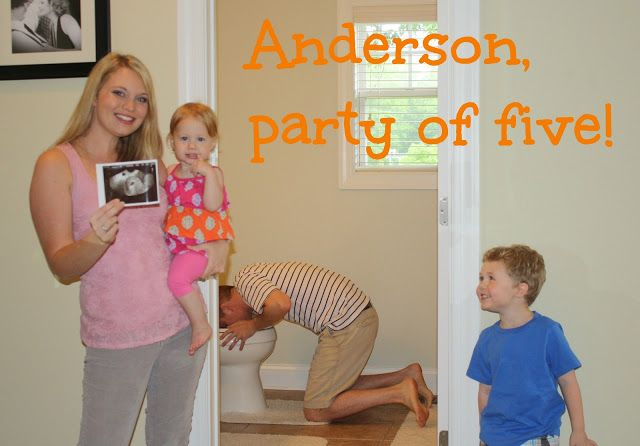 Third Baby Announcement, WhenTheKidsAreBored.com