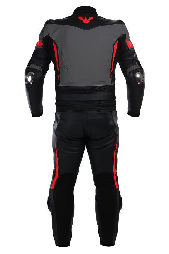Leather overalls ARAGON | PSí Hubík #grey #black #motowear #psi #psihubik #leather #overalls #aragon #kombi #kombineza