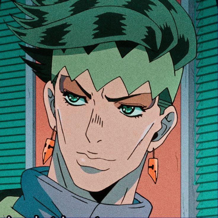 Rohan Kishibe icon   Jojo's bizarre adventure anime, Jojo ...
