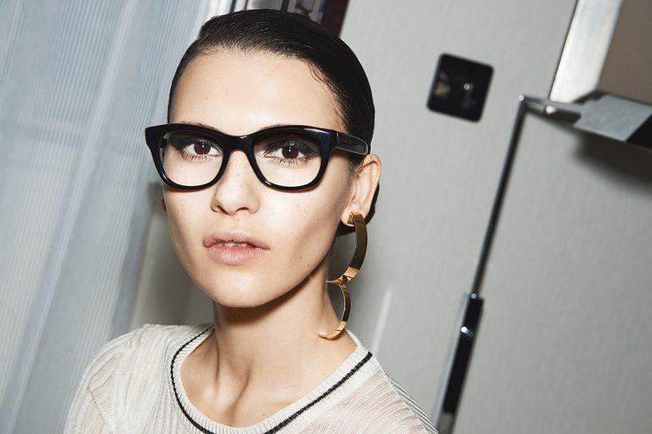 Гик-шик: очки в пол-лица — хит сезона весна-лето 2016   Красота   Тенденции   VOGUE