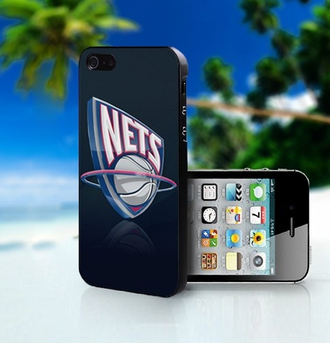 New Jersey Nets Basketball NBA - Photo On Hard Cover For iPhone 4,4S