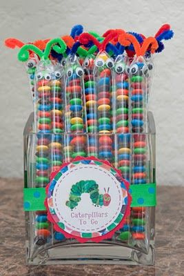 Hungry Caterpillar Party Ideas ~~this is so cute...go to blog for other ideas along this party thought. TOO CUTE!!!~~