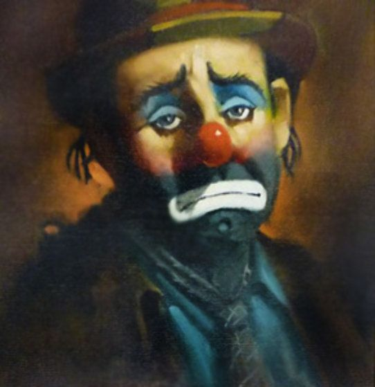 Famous Clown Paintings Artwork 1000 Images About Clowns On