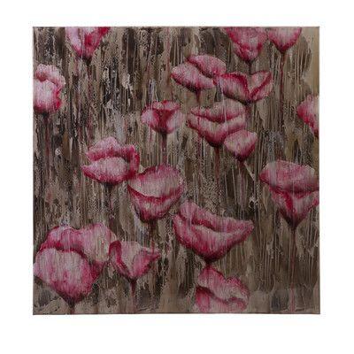 One Allium Way Telica Floral Painting Print