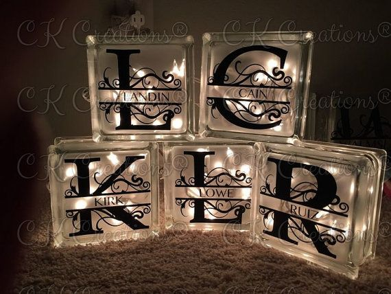 Hey, I found this really awesome Etsy listing at https://www.etsy.com/listing/268673448/personalized-glass-block-decorative