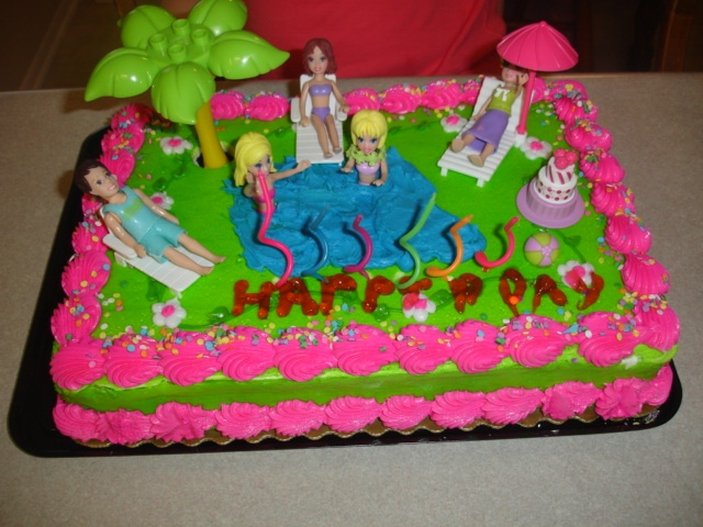 Polly Pocket Cake Party Ideas In 2019 Cake Birthday