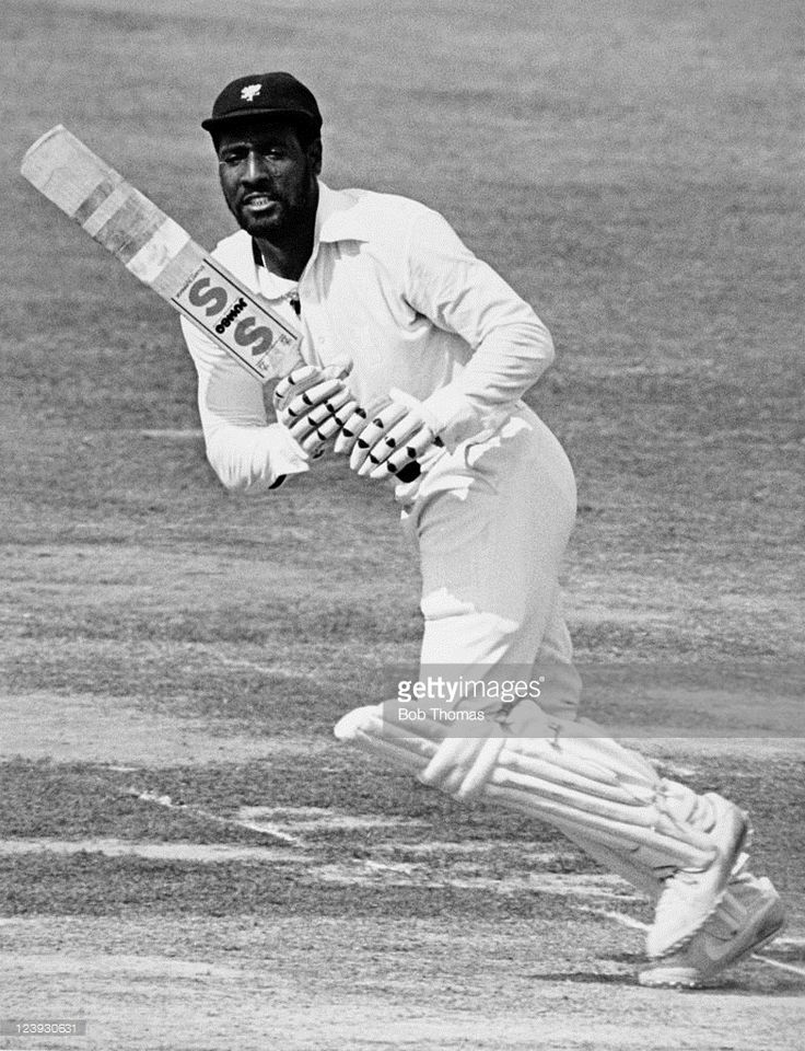 Viv Richards batting for Somerset, circa 1979.