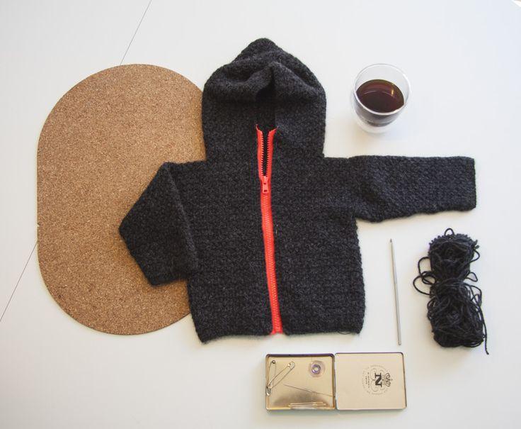 Hjemmehæklet trøje /crochet