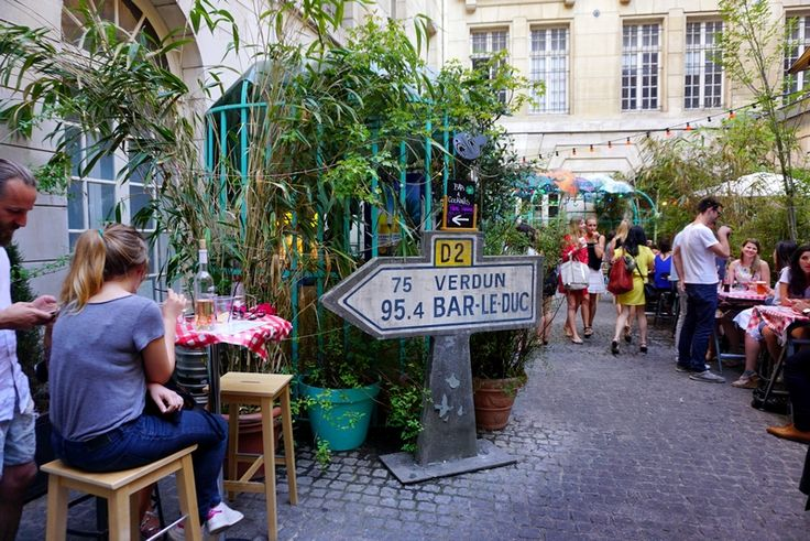 Le Jardin Municipal nouveau bar ephemere Paris