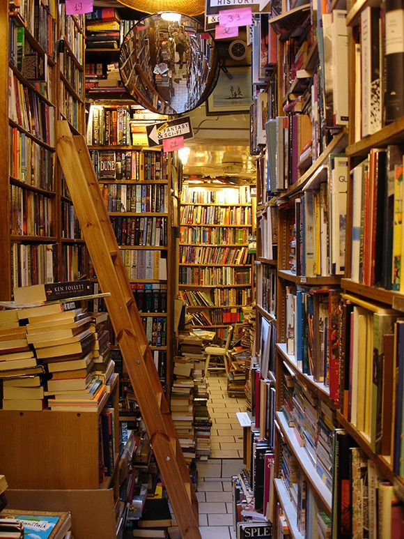 9 Awe-Inspiring Bookstores Around the World - 6. The Abbey Bookshop in Paris, France.   ... http://scotfin.com/ says, Gets my allegiance in Paris as the Canadian version of Shakespeare and Company.