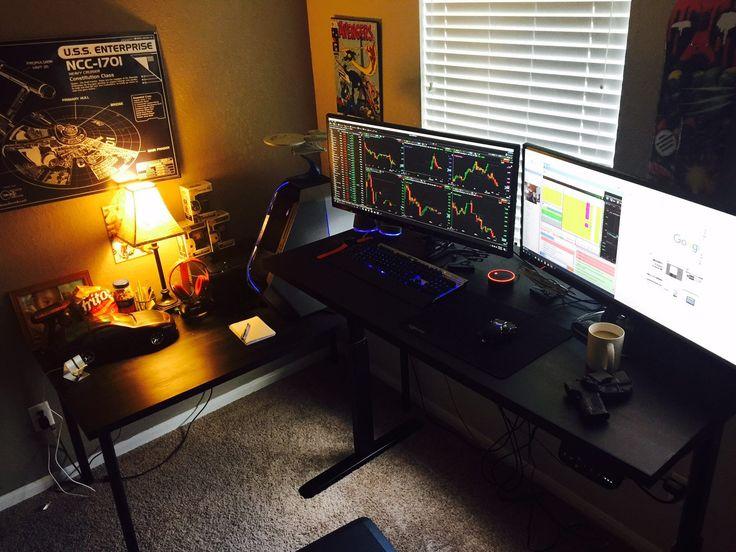 Standing Desk In Office