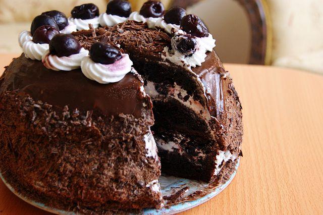 "103. Торт ""Черный лес"""